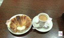 Portugalskie śniadanie